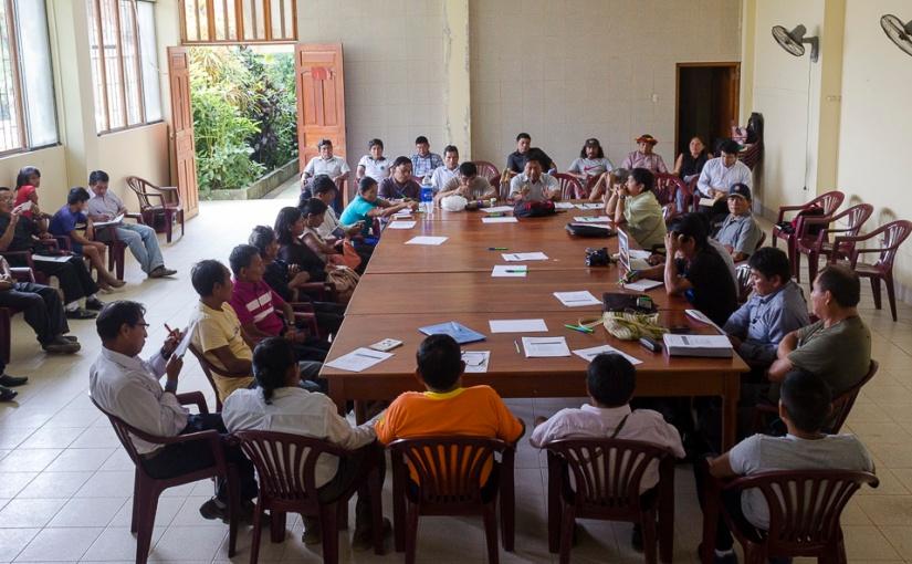 Awajun y wampis iniciaron proceso de diálogo sobre límitesterritoriales