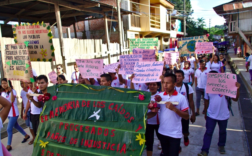 Nieva: Jóvenes se movilizaron por 9 años delBaguazo